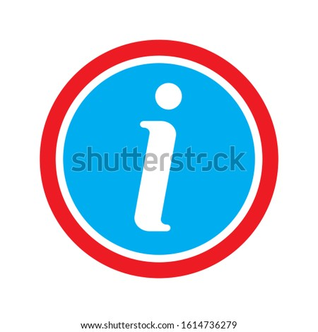 info icon. flat illustration of info vector icon. info sign symbol