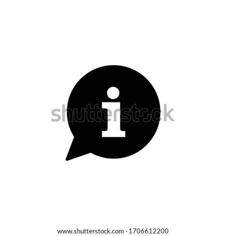 info icon vector, info sign and symbol vector Design