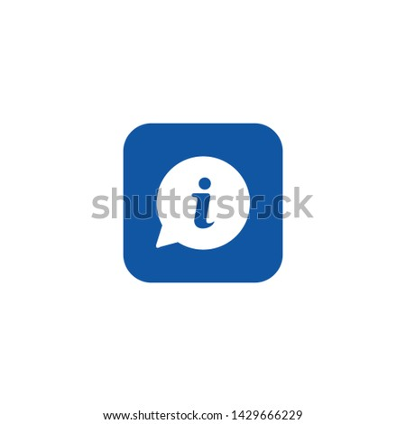 Info icon Vector, Info sign vector for web