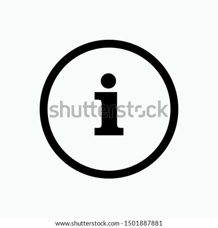 Info Icon - Vector, Sign and Symbol for Design, Presentation, Website or Apps Elements.