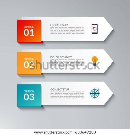 infographic arrow design