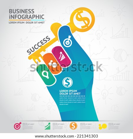 Infographic bussiness
