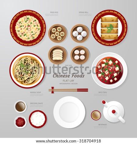 infographic china foods