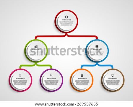 Visio org chart template