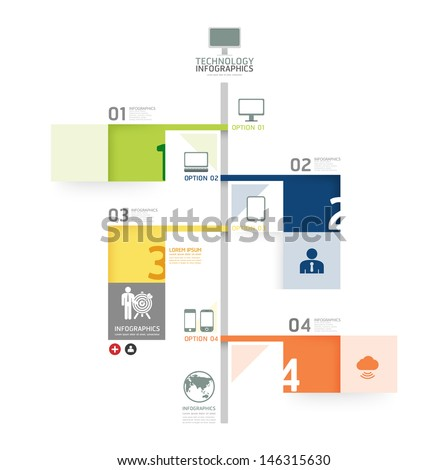 Infographic Ideas infographic lines : Infographic Design Time Line Template / Can Be Used For ...