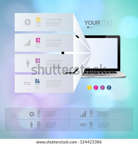 infographic design with
