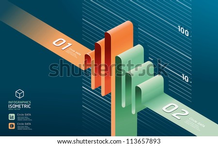 infographic diagram chart. Detailed   / can be used for infographics / graphic or advertise layout vector