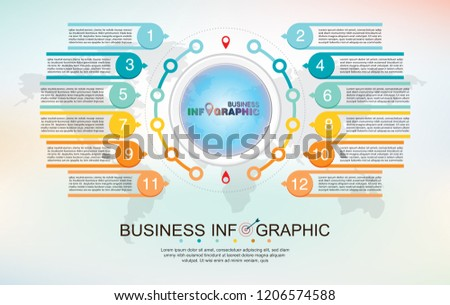 infographic element data for