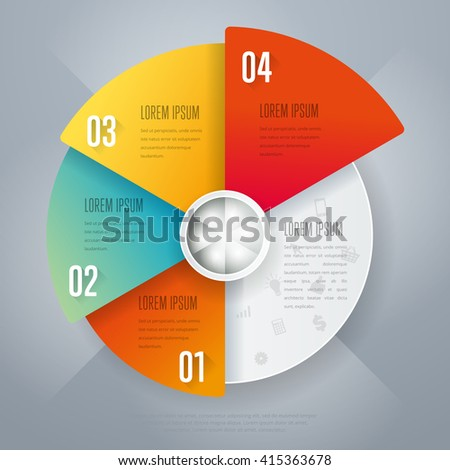Infographic element for website or business project with infographic icons, step, bar. Abstract infographic element concept with different stage and part element. Business infographic timeline element