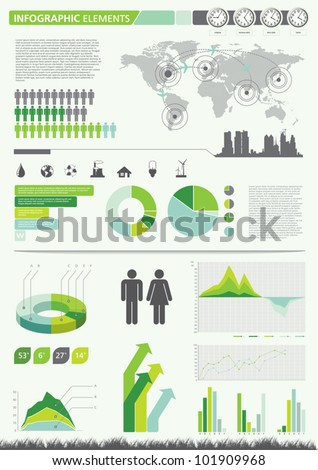 Infographic elements. Vector illustration.