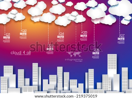 Infographic Layout for modern business data presentation and classification. Ideal for item or service ranking or products comparison. stock photo