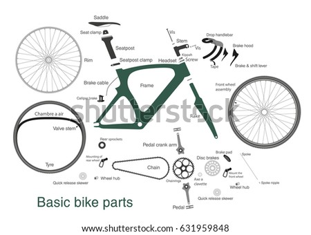 Bike Part Vector Icons Download Free Vector Art Stock Graphics