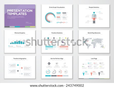 Infographic presentation templates and business brochures. Information graphics for advertisements, magazines, booklets, websites, prints, marketing etc.