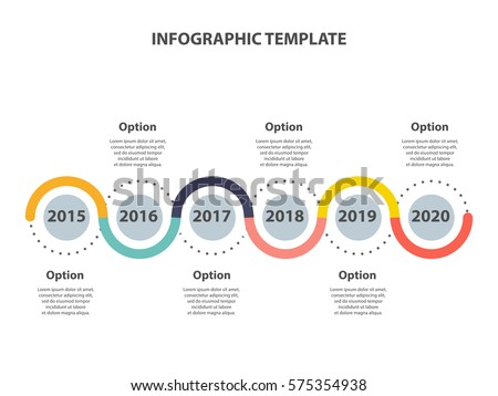 infographic template timeline