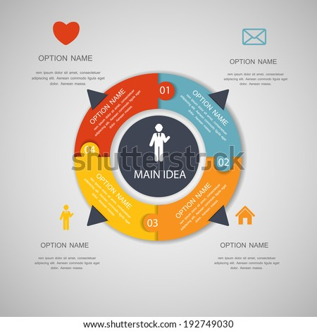 Infographic Templates for Business Vector Illustration. EPS10