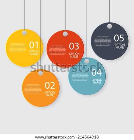 Infographic Templates For Business Vector Illustration. Eps10 ...
