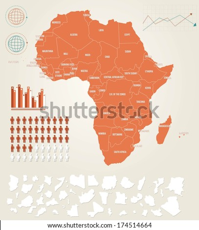 stock-vector-infographic-vector-illustration-with-map-of-africa