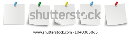 Infographic with white stickers on the white background. Eps 10 vector file.