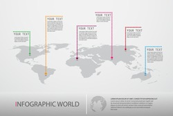 infographic world