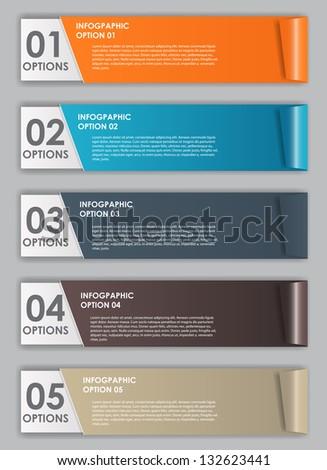 INFOGRAPHICS design elements vector illustration - stock vector