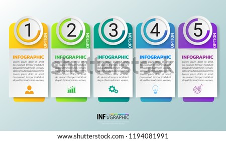 Infographics design template, 3D Business concept with 6 steps or options, can be used for workflow layout, diagram, annual report, web design.Creative banner, label vector.