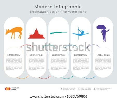 infographics design vector with