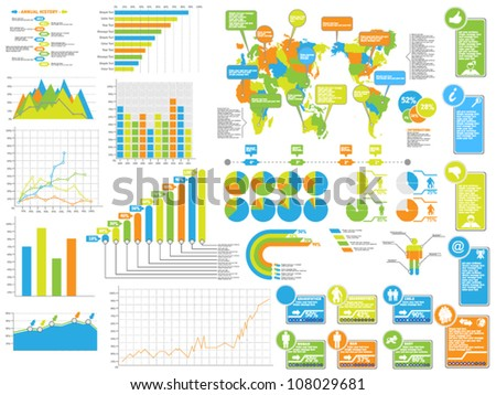 INFOGRAPHICS ELEMENTS 3 SPECIAL EDITION - stock vector