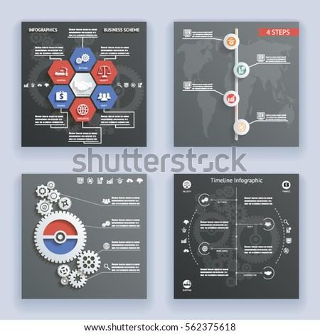 infographics elements symbols...