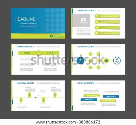 infographics for leaflet flyer