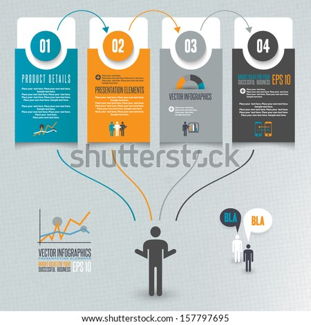 Infographics illustration