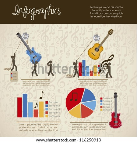 infographics illustration of