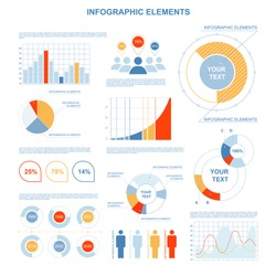 infographics on a white background. vector illustration