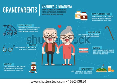infographics retired elderly