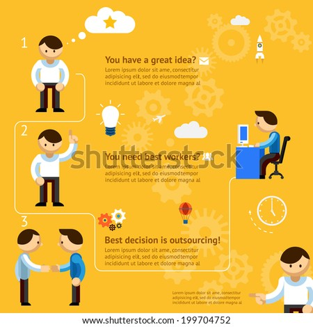 inforgaphics about business