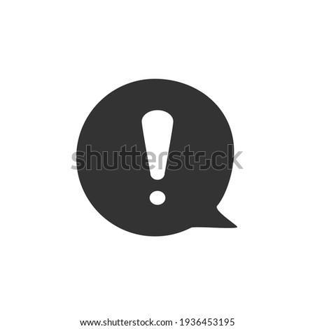Information chat icon. Vector illustration. Stock photo ©