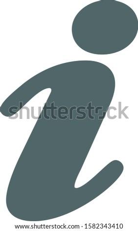 Information icon. Information symbol. Vector illustration