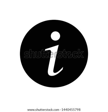 Information Icon Vector Design Symbol illustration