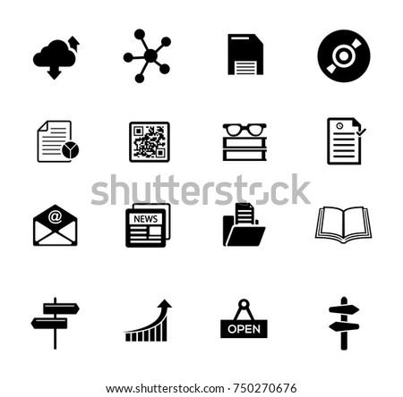 Information Icons set