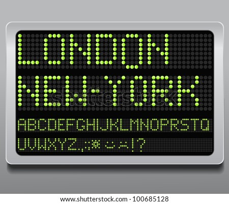 Information led board