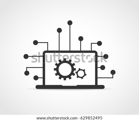 Information Technology concept icon