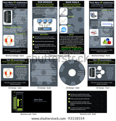 Information Technology Brochure Information Technology it