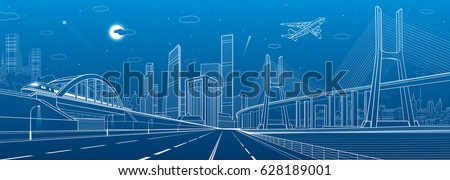 infrastructure illustration