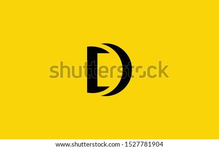 Initial based clean and minimal Logo. D letter creative fonts monogram icon symbol. Universal elegant luxury alphabet vector design Foto stock ©