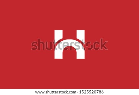 Initial H Letter Logo Design Vector Template. Monogram and Creative Alphabet Letters icon Illustration. Stock fotó ©