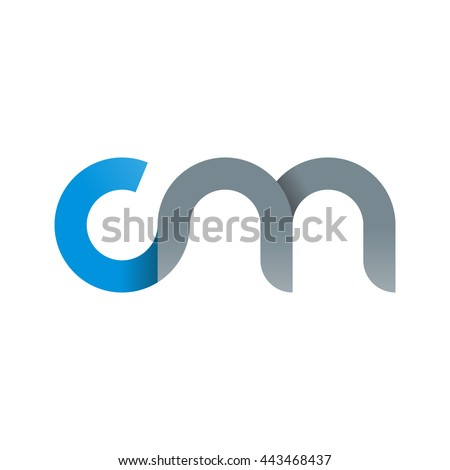 royalty free stock photos and images initial letter cm modern