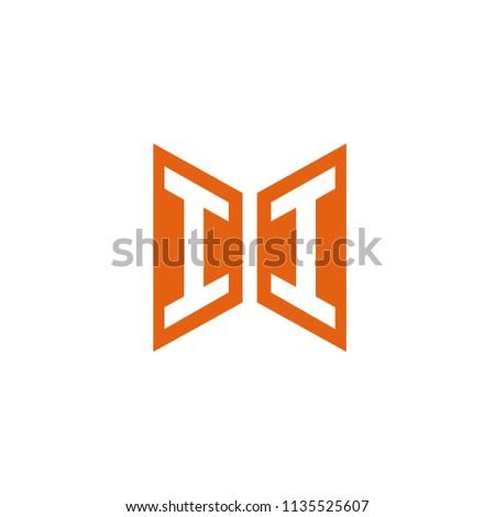 initial letter ii hexagonal