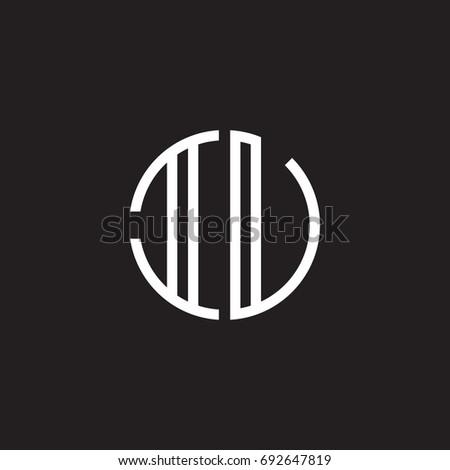 initial letter iu  iv