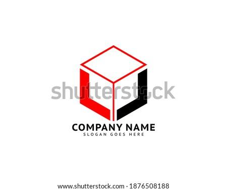 Initial Letter LL Logo Template Design Stock fotó ©