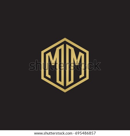 initial letter mm mirror
