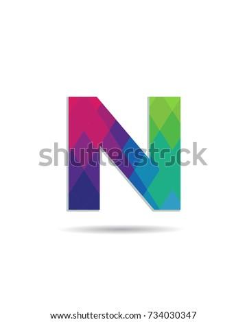 Initial letter n logo design template ez canvas initial letter n logo design template maxwellsz